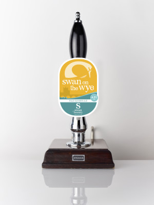 Swan on the Wye pale summer ale from Swan Brewery