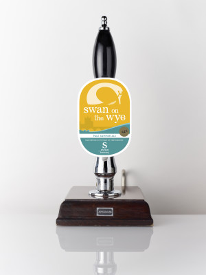 Swan on the Wye 4.2% pale summer ale from Swan Brewery