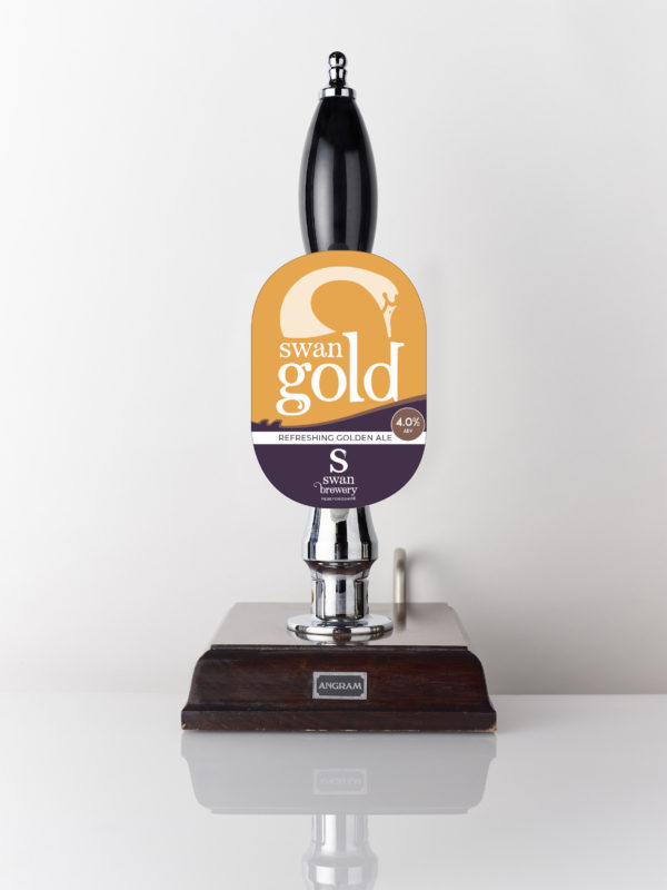Swan Gold refreshing golden ale