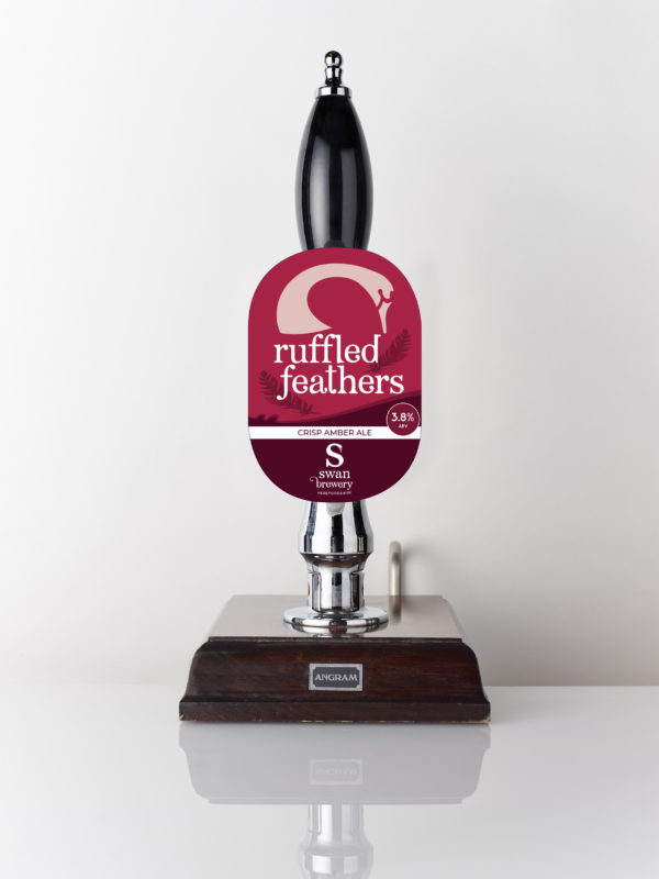 Ruffled Feathers classic amber bitter from Swan Brewery