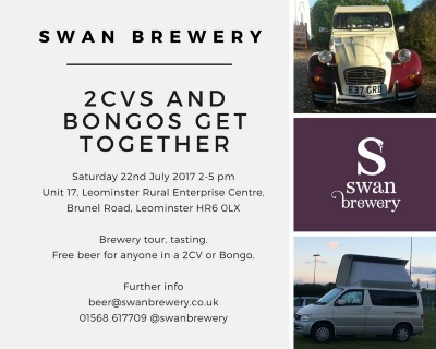 2CV and Bongo get together at Swan Brewery 22nd July