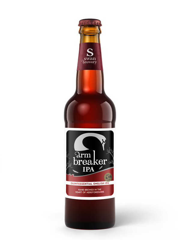 Arm Breaker IPA from Swan Brewery – Quintessential English IPA