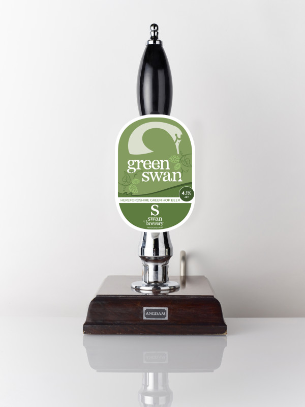 Green Swan green hop beer