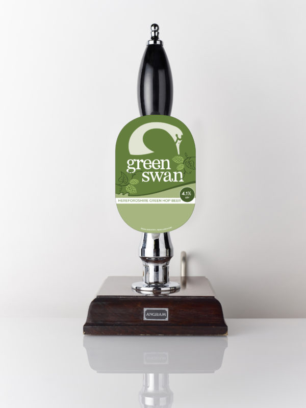 Green Swan green hop beer from Swan Brewery