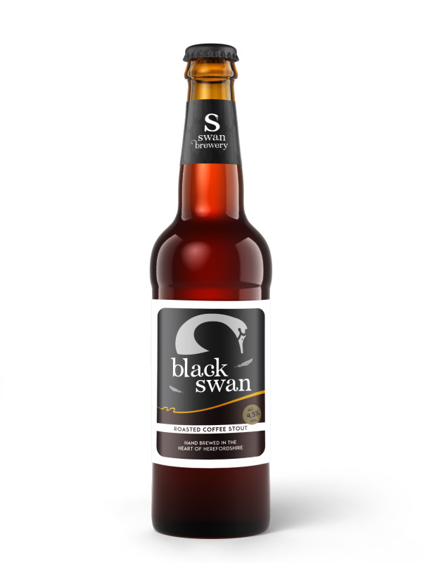 Black Swan coffee stout from Swan Brewery in Herefordshire