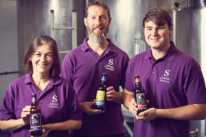 Swan Brewery team
