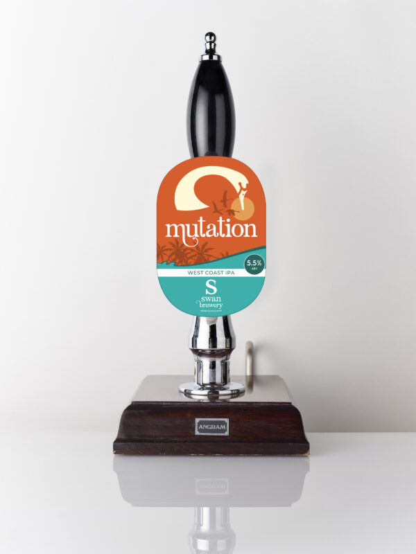 Mutation from Swan Brewery pump clip