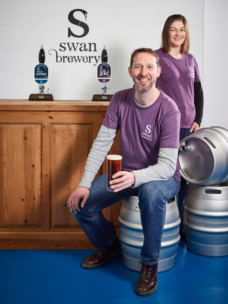 Wedding beer from Swan Brewery Herefordshire