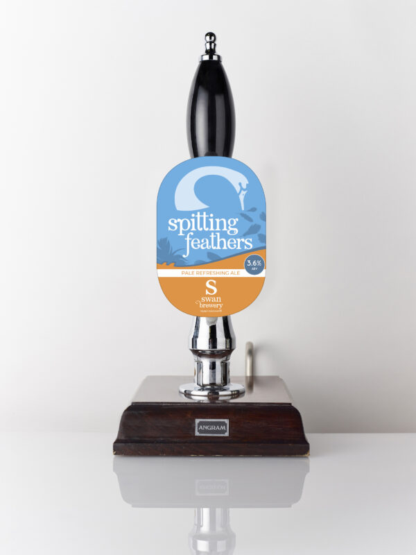 Pale refreshing ale Spitting Feathers from Swan Brewery